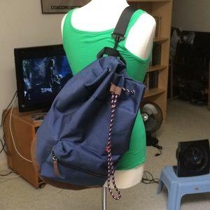 Single-Strap Drawstring Backpack